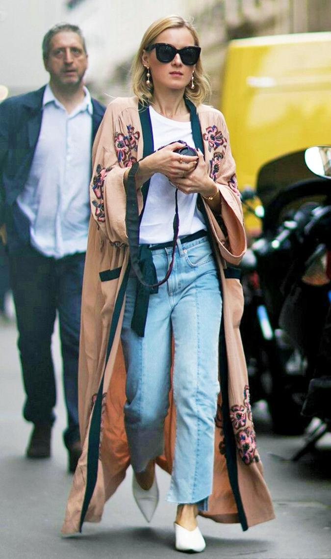 Silk Robe Trend | Akanksha Redhu