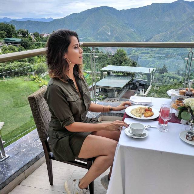Yesterdays breakfast with a view in Mussoorie At jwmussoorie Wearinghellip