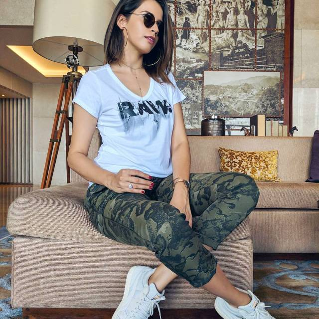RAW Wearing gstarraw tee amp camo pants With puma sneakershellip