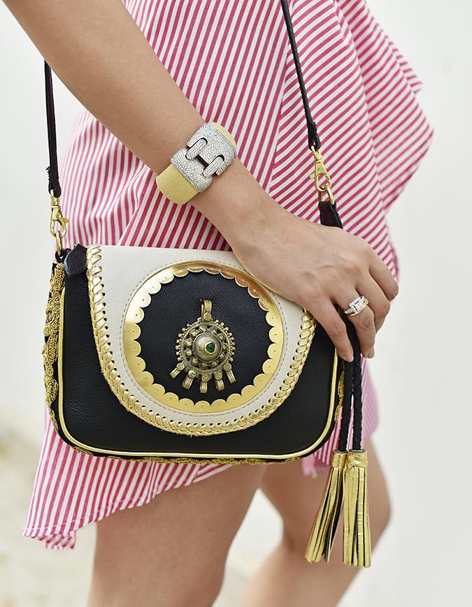 Fashion Capsule by Mallika Jain | Akanksha Redhu | bag cuff hanging
