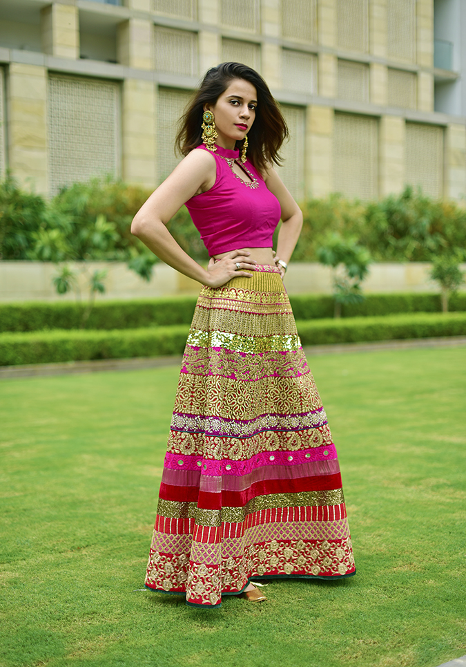 Fashion Capsule | Akanksha Redhu | full side arms on waist