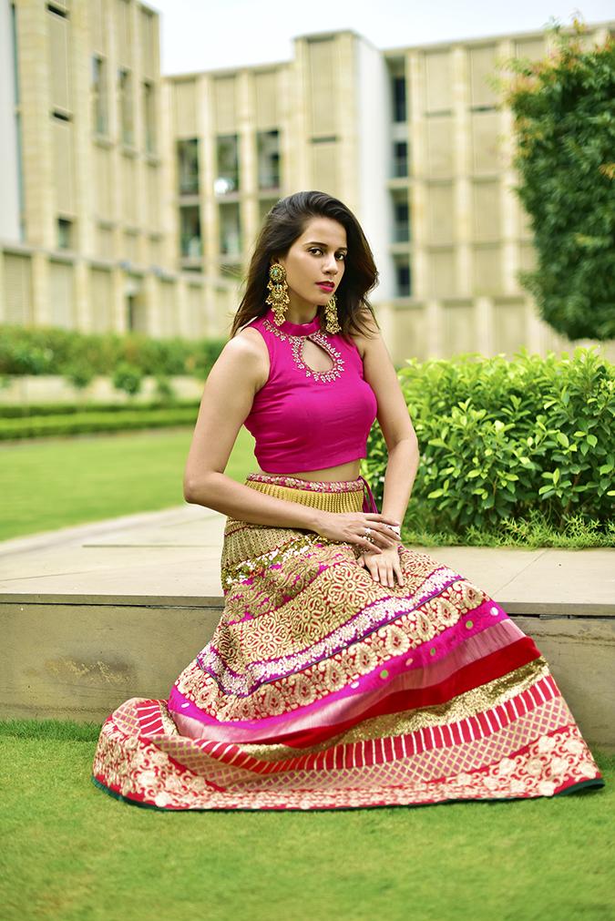 Fashion Capsule | Akanksha Redhu | sitting ledge
