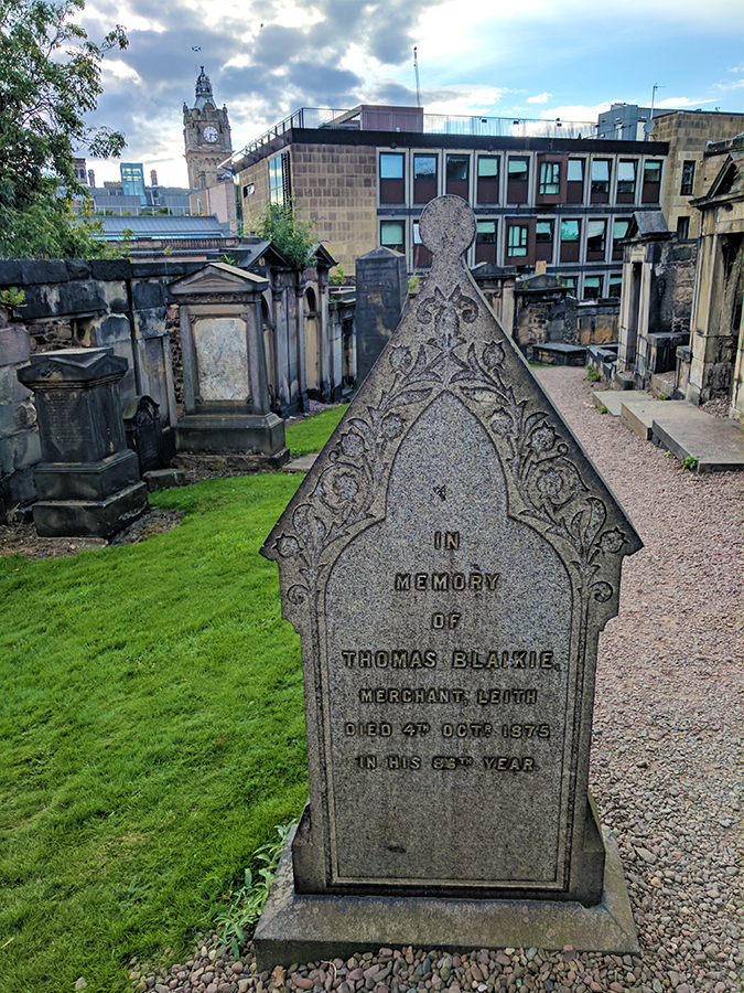 Edinburgh | Akanksha Redhu | burial ground tombstone