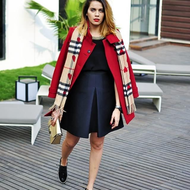 RedhuLuxury  Throwback to this winter burberry outfit on httpakanksharedhucomhellip