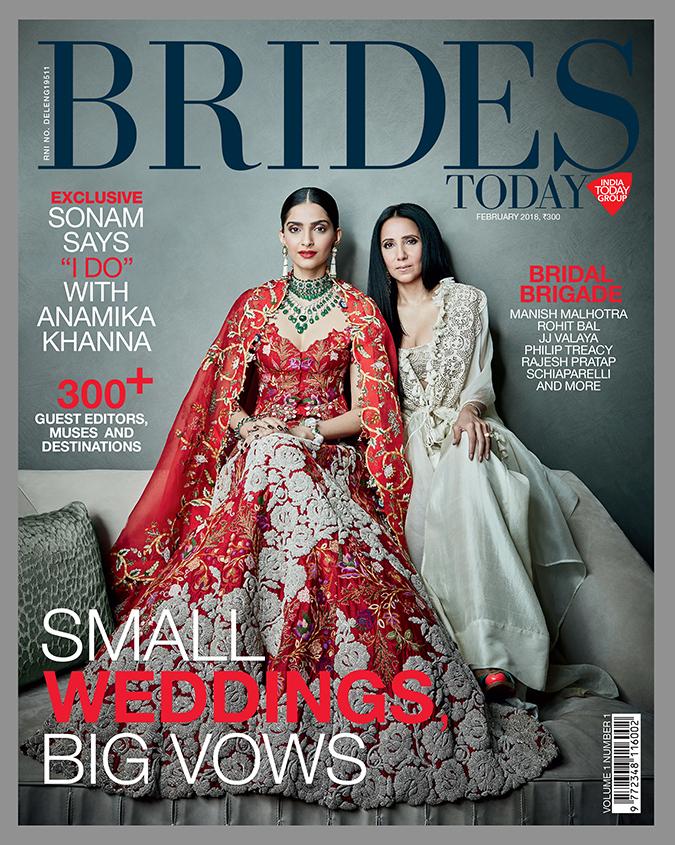 Brides Today Feb 2018   Akanksha Redhu