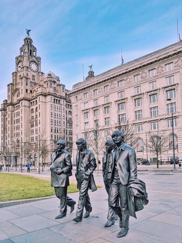 Must See Liverpool | Akanksha Redhu | Visit Britain | Beatles Statue
