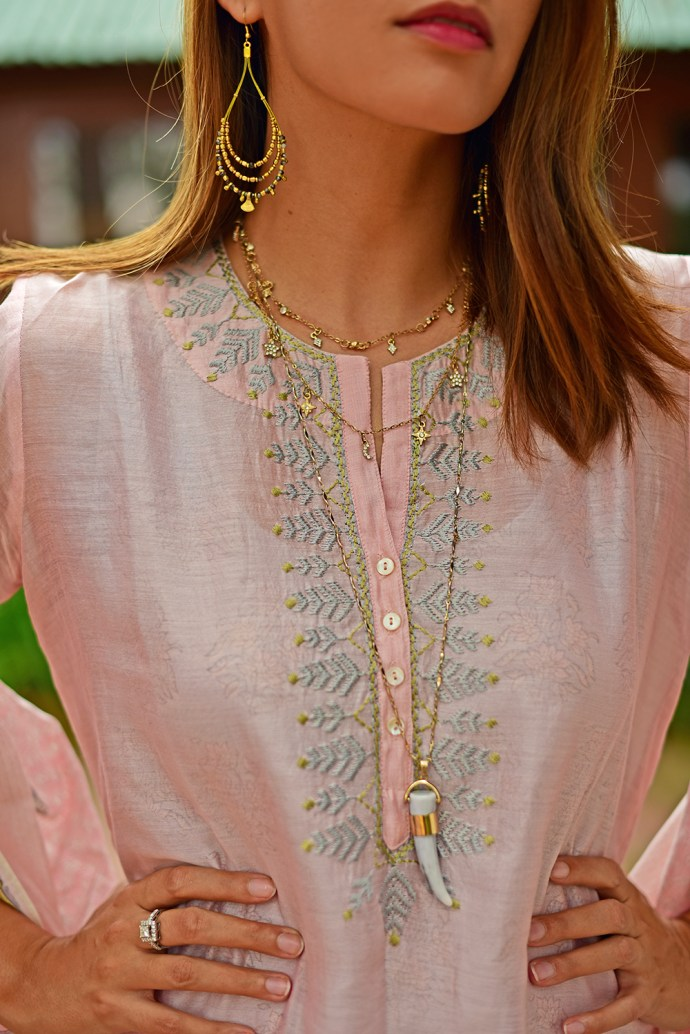 The Loom | Akanksha Redhu | short necklace details