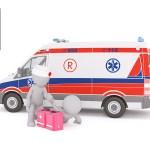 救急車と人