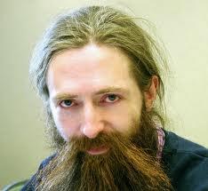 Aubrey de Grey - His reputation precedes him.