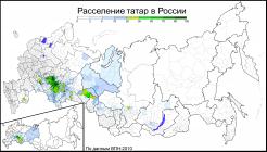 Tatars in Russia (2010) by Avdeev