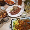 Goulash & Bavarian sausage