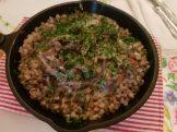 Buckwheat Porridge with Onions & Mushrooms
