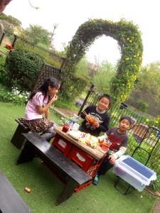 川遊び 子ども宴会