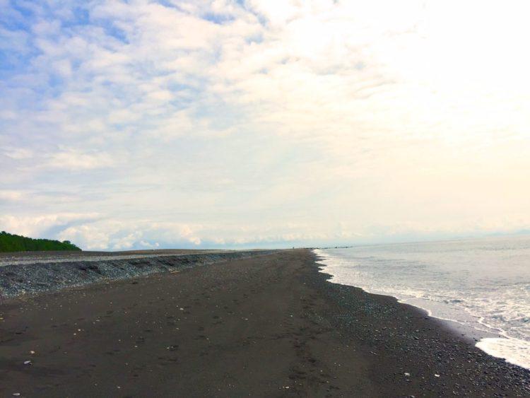 海岸の風景。