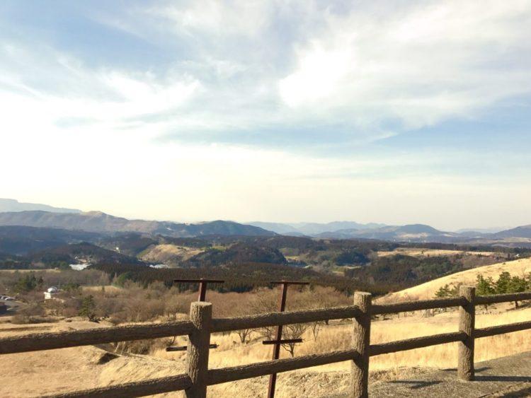 展望台からの景色。