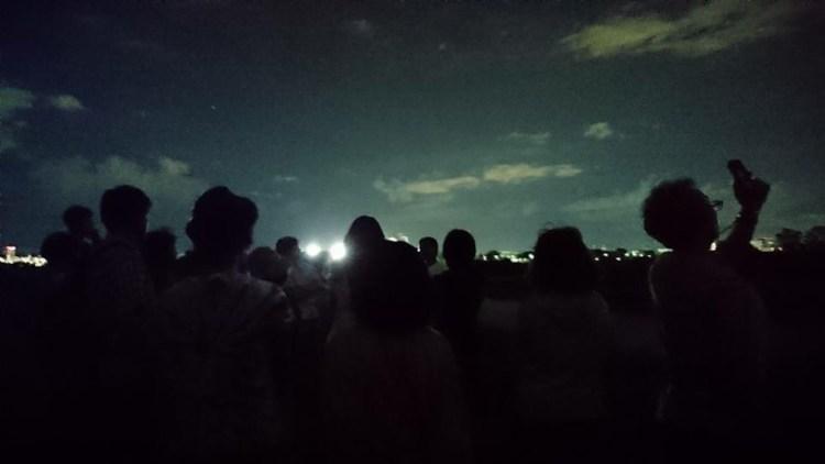 星空を観る。