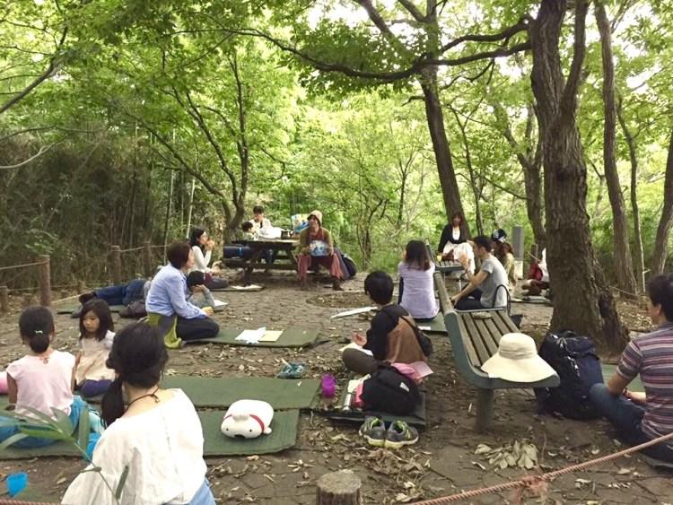 公園で地球を学ぶ。