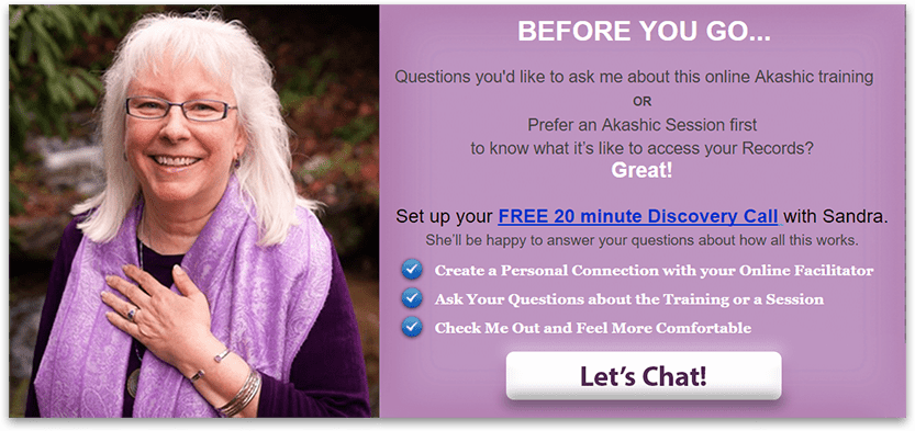 online akashic training, learn how to access your akashic records