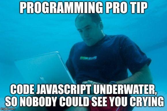 javascript pro tip
