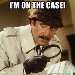 on the case detective meme