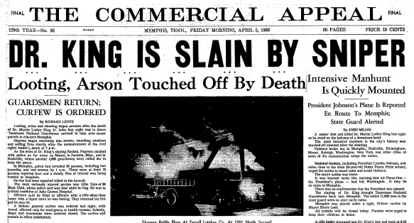 commercial-appeal-newspaper-0405-1968-martin-luther-king-assassination