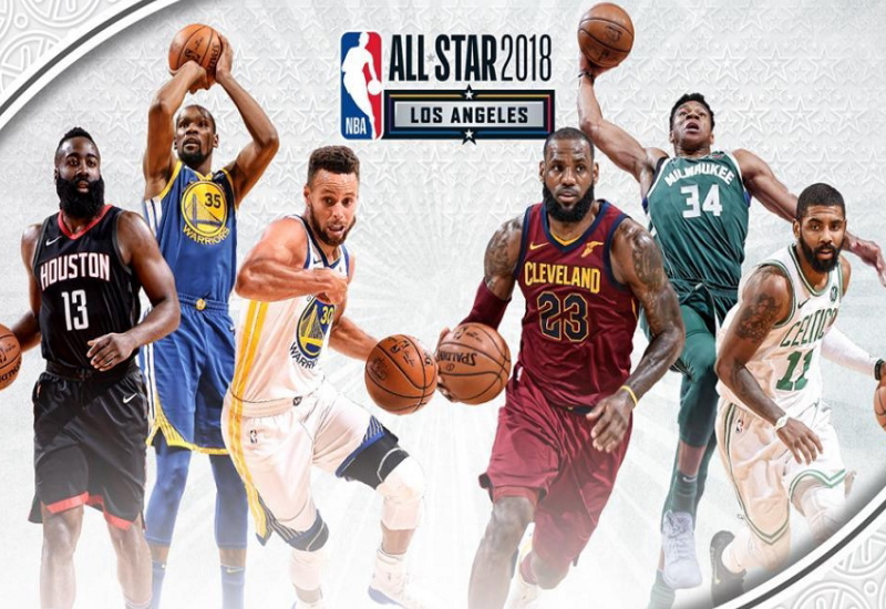 nba-all-star-2018 NBAオールスター2018