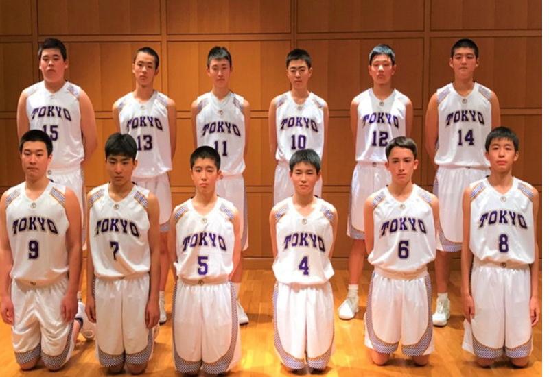 第32回都道府県対抗ジュニアバスケットボール大会2019 男子東京A