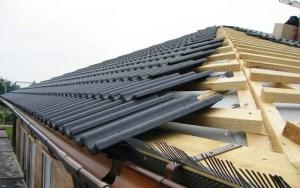 Ahşap kiremit çatı