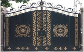 Ferforje Kapı Çeşitleri