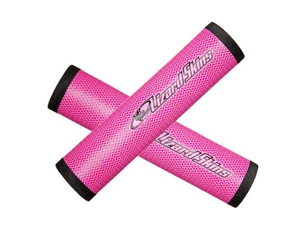 Chwyty kierownicy LIZARDSKINS DSP 130mm różowe /Pink/