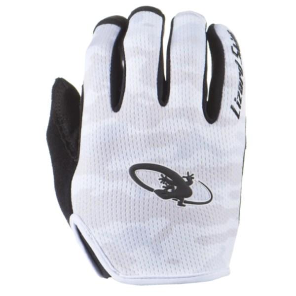 Rękawiczki LIZARDSKINS MONITOR długi palec białe (White Camo)