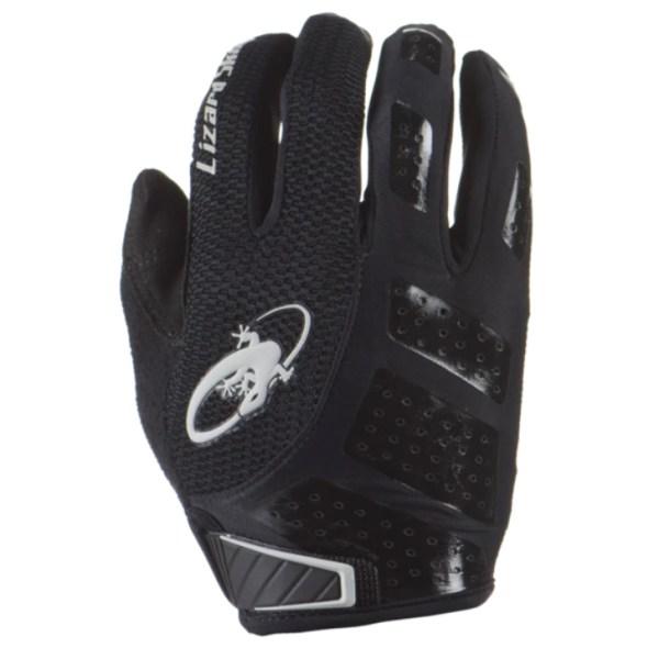 Rękawiczki LIZARDSKINS MONITOR SL długi palec czarne (Jet Black)