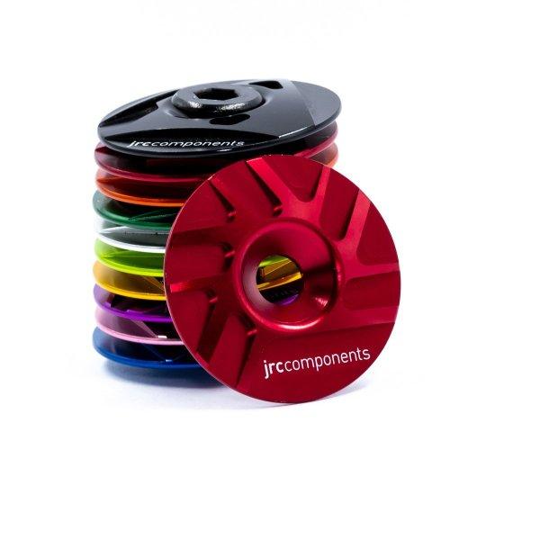 """Kapa sterów 1 1/8"""" JRC Components - Pathway Design - czerwone /red/"""
