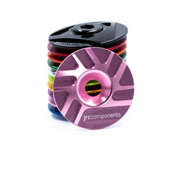 "Kapa sterów 1 1/8"" JRC Components - Pathway Design - różowe /pink/"