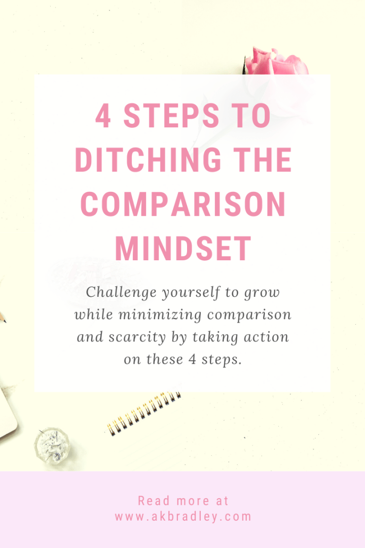 4 Steps to Ditching the Comparison Mindset