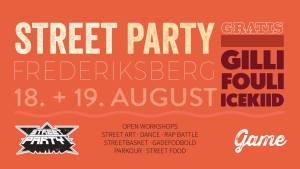 Street party 2017 på Stjernen