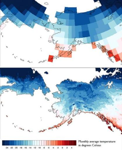 visualization of climate data