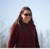 jessica garron walks outdoors