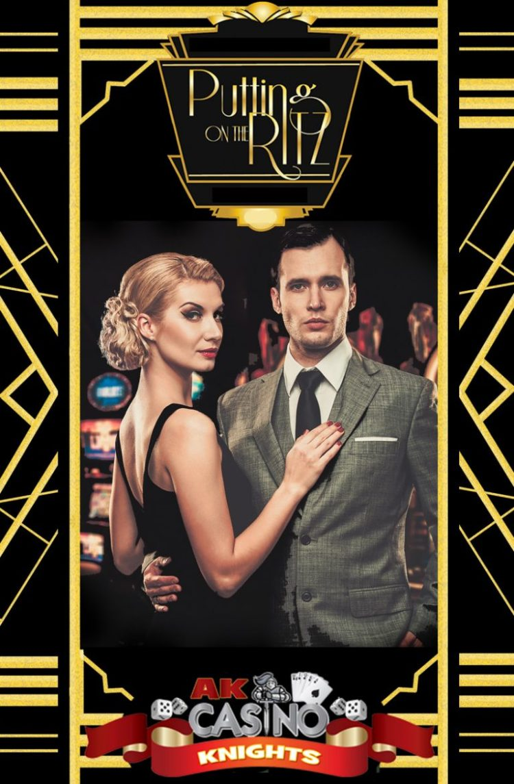 Puttin on the Ritz casino hire at A K Casino Knights