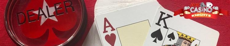 Casino origins poker dealer butoon and cards