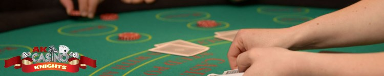 Casino table hire choices at A K Casino Knights poker hands and payouts