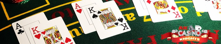 Ace king hands on blackjack