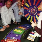 Wheel of fortune casino hire at A K Casino Knights