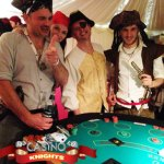 A K Casino Knights and the pirates