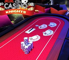 Hire Texas Holdem Poker at A K Casino Knights Christmas party poker offers