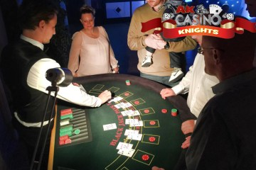 A K Casino Knights Thanet casino hire