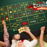 A K Casino Knights childrens roulette party