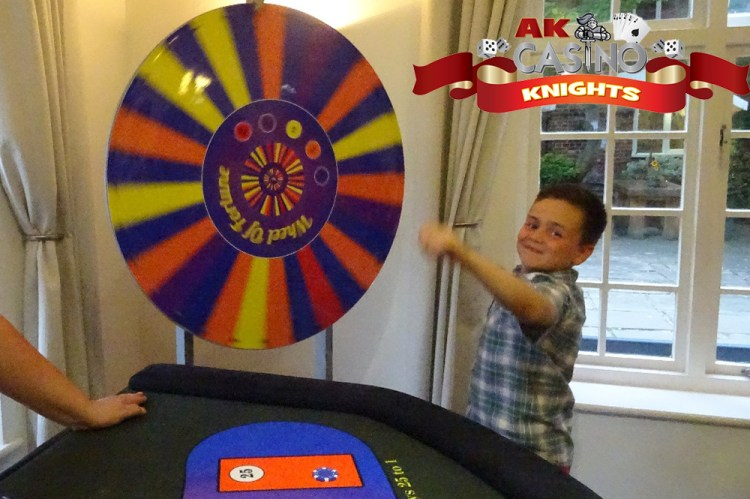 A K Casino Knights Wheel of Fortune odds
