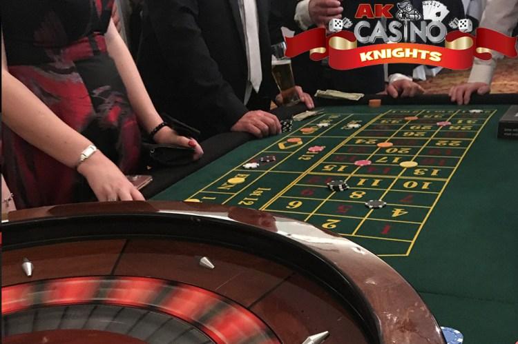 A K Casino Knights Wedding casino hire Kent