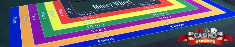 A K Casino Knights Vegas Money Wheel